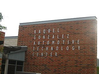 Laredo Community College South Campus - The Raquel Gonzalez Automotive Technology Center on the LCC South Campus is named for the former college trustee and philanthropist who was once in the automotive repair business with her father.
