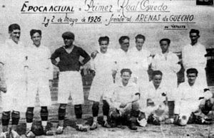 Real Oviedo - Real Oviedo first squad in 1926.