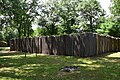 Reconstructed Northwest Company trading post, Forts Folle Avoine Historical Park.jpg
