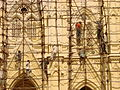 Reconstruction Work on a Church - Kanyakumari - India.JPG