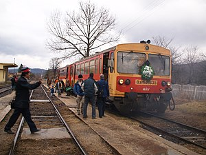 Last day of the Kisterenye—Kál-Kápolna railway...