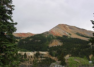 Red Mountain (Ouray County, Colorado) - Image: Red Mountain Number 3