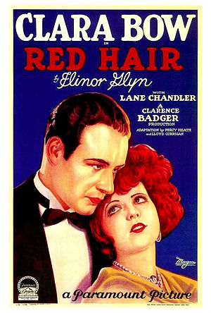 Red Hair (film) - 1928 theatrical poster