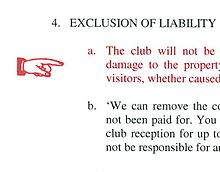 what is an exclusion clause in contract law
