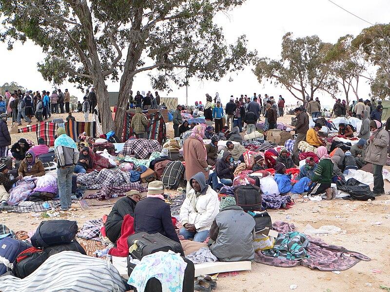 Datei:Refugie Choucha Tunisia 1.JPG