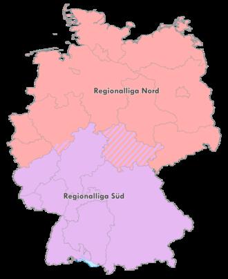 Regionalliga - Image: Regionalliga 2000 2008