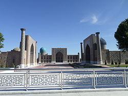 Der Registanplatz in Samarqand