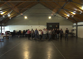 Citizens Theatre - The Citizens Theatre main rehearsal room