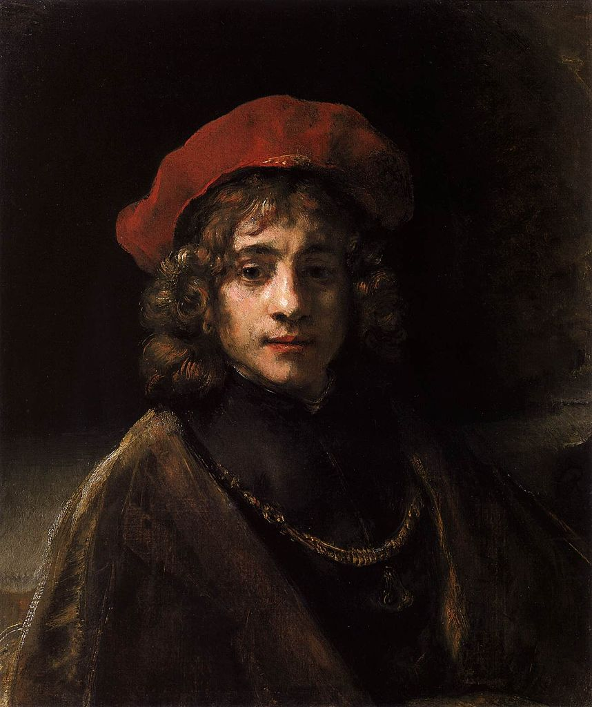 a comparison between rembrandt self portrait and nicolaes ruts Scenes from everyday life at the time is the main motif in a series of paintings goya did between  nicolaes ruts rembrandt, portrait  rembrandt, self-portrait.