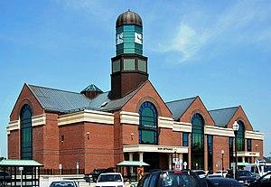 Albany–Rensselaer station - Image: Rensselaer Rail Station crop