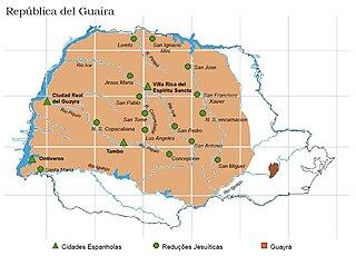 Guayrá Historical region in South America