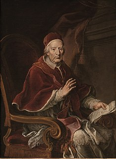 Pope Clement XII 18th-century Catholic pope