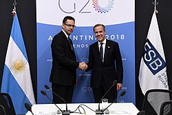 Reunión bilateral - Guido Sandleris y Mark Carney (44303351270)