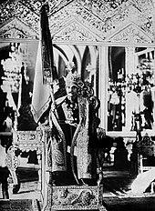 Krönung von Reza Schah Pahlavi