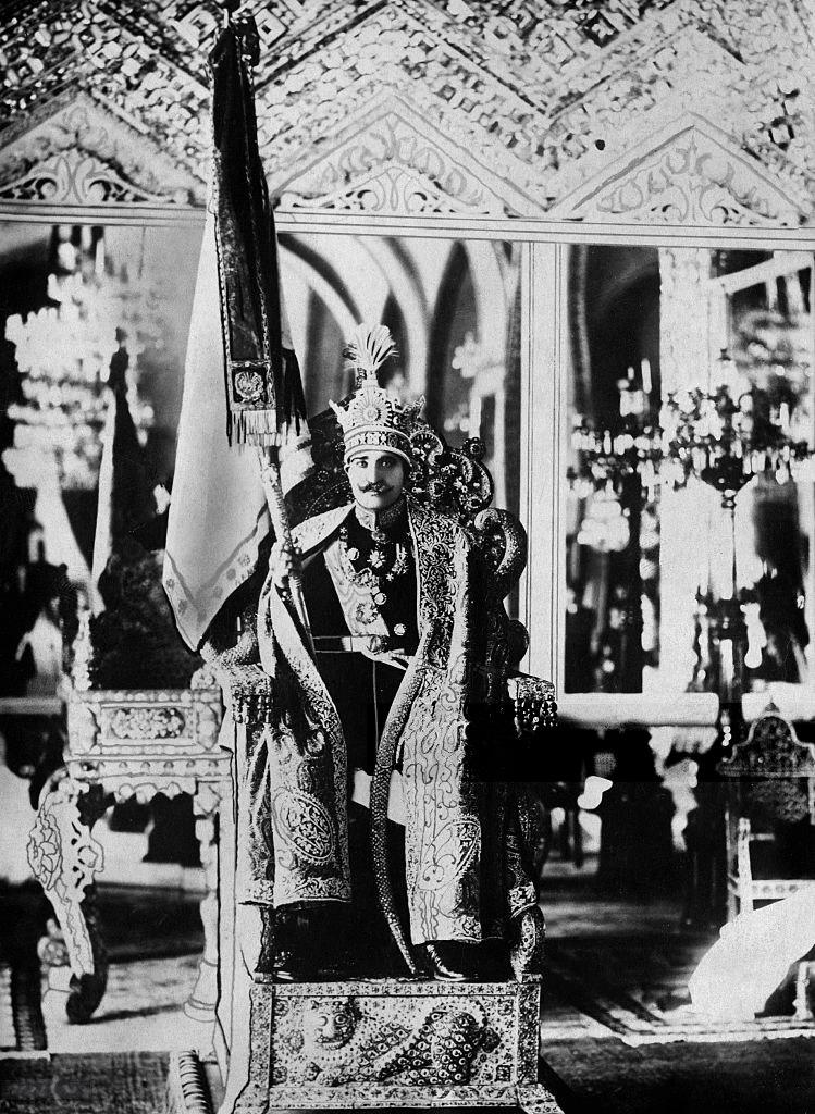 Reza shah coronation