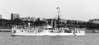 Brazilian battleship Riachuelo - Battleship Riachuelo circa 1907