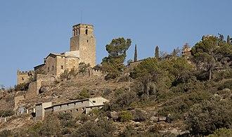 Vilanova de l'Aguda - Ribelles castle