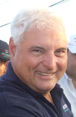 Photo of Ricardo Martinelli, president elect o...