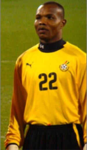 Richard Kingson - Kingson with Ghana in 2008