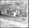 Richmond, Va. Grave of Gen. J. E. B. Stuart in Hollywood Cemetery, with temporary marker LOC cwpb.03369.jpg
