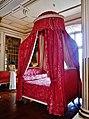 Rigny-Ussé Château d'Ussé Innen Chambre du Roi Bett 2.jpg