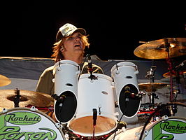 Rikki Rockett in juli 2008
