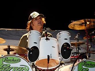 Devil City Angels - Drummer Rikki Rockett.
