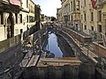 Rio de San Trovaso (Travaux de 2004).jpg