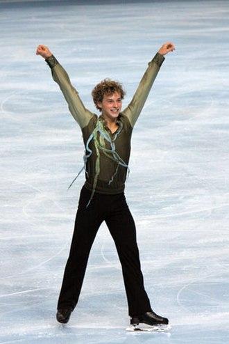 Adam Rippon - Rippon at the 2009 Trophée Éric Bompard
