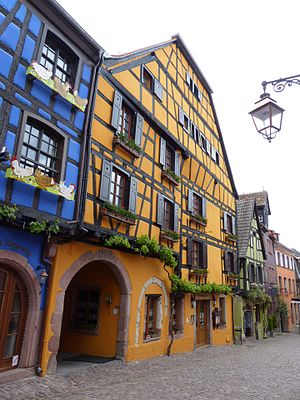 Riquewihr - City houses