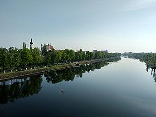 Pina River river in Belarus