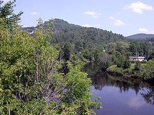 Rivière du Nord (Laurentides) - Rivière du Nord at Piedmont, Quebec