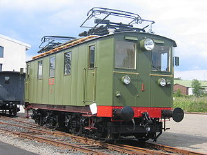Norsk Transport - RjB 1 at the Norwegian Railway Museum