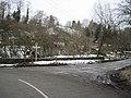 Road Junction at bridge east of Rhydycroesau - geograph.org.uk - 1722644.jpg