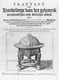 The title page of Tractatus de globis et eorum usu