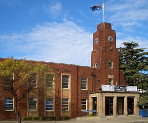 Rockdale, New South Wales - Image: Rockdale Town Hall