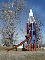 Rocket Slide in Edmundson Park, Oskaloosa, Iowa.jpg