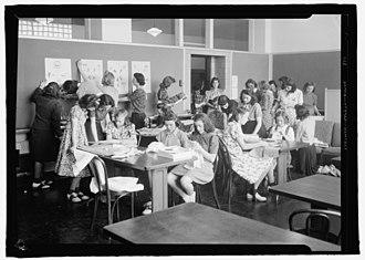 Richard Montgomery High School - Class in 1936