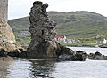 Rocky Outcrop next to Kismul Castle on Barra - panoramio.jpg