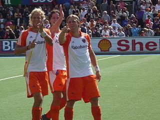Roderick Weusthof Dutch hockey player