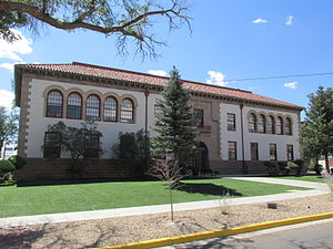New Mexico Highlands University - Rodgers Hall, Administration Offices of NMHU