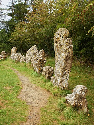 Rollright Stones - The largest stone in the King's Men