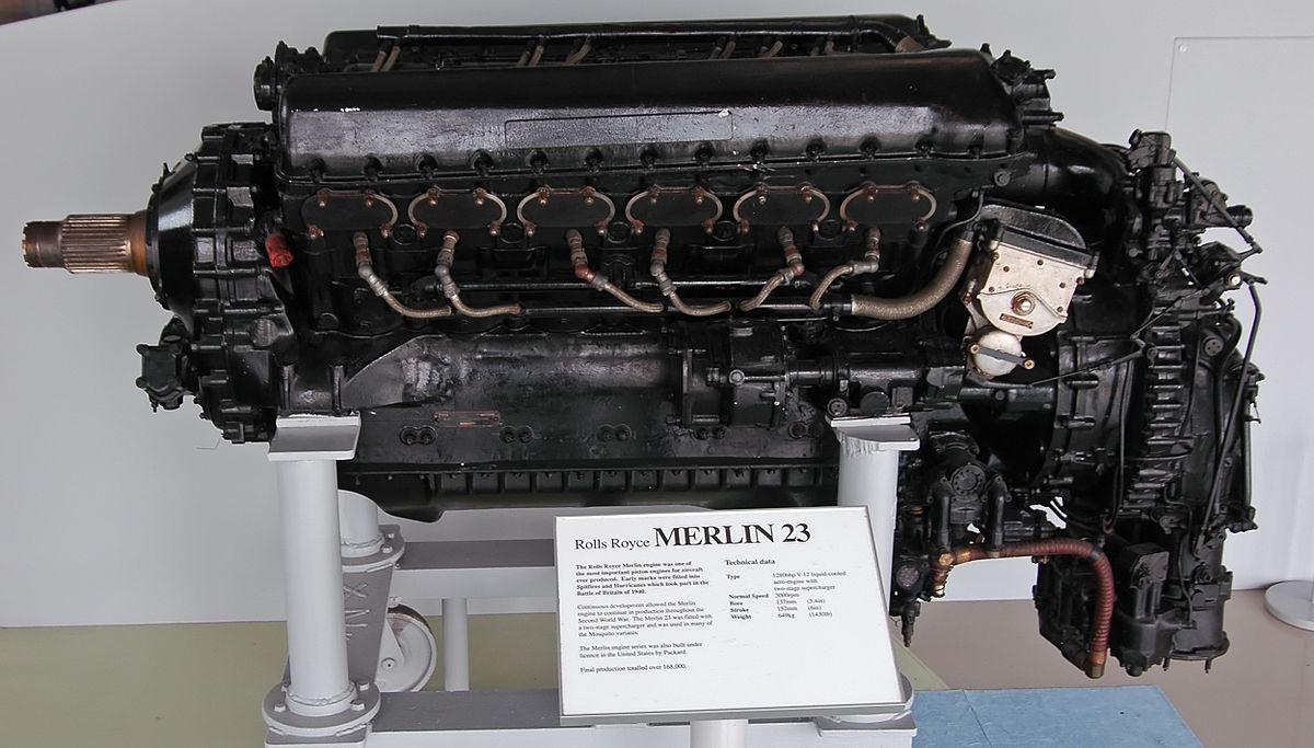 List Of Rolls Royce Merlin Variants Wikipedia