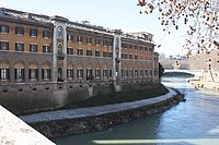 Rom, das Krankenhaus Fatebenefratelli.JPG