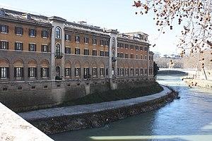 Fatebenefratelli Hospital - Image: Rom, das Krankenhaus Fatebenefratelli