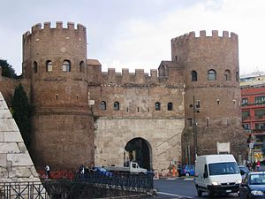 Ostiense - Porta Ostiensis today, the location of Ostiense Museum.