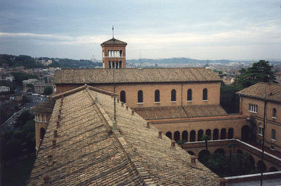 Sant'Anselmo in Rome, the seat of the Abbot Primate of the Benedictine Confederation Roma Sant Anselmo 01.jpg