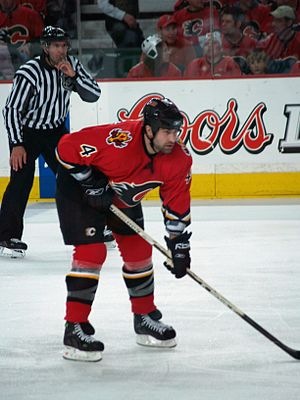 Roman Hamrlík - Hamrlík as a member of the Calgary Flames