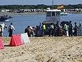 Romería de El Rocío, embarque de las hermandades en Sanlúcar hacia Doñana, mayo 2009 IMGP3037.JPG