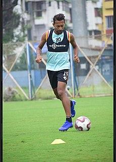 Ronaldo Oliveira Indian professional footballer